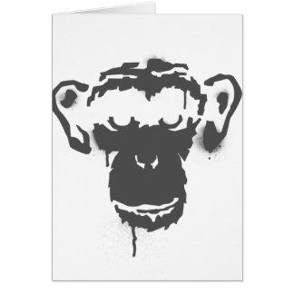 落書き猿 カード