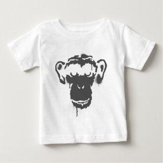 落書き猿 ベビーTシャツ