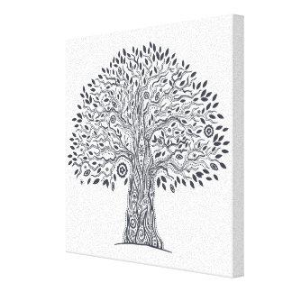 落書き6生命の樹 キャンバスプリント