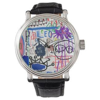 落書き 腕時計