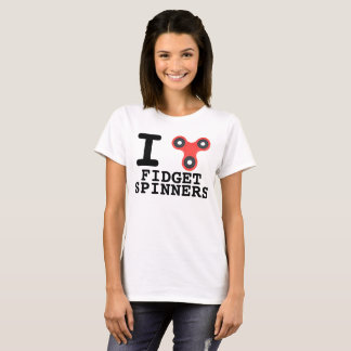 落着きのなさの紡績工のTシャツ Tシャツ