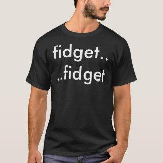 落着きのなさ: 動揺2はティー味方しました Tシャツ