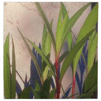 葉および影 ナプキンクロス