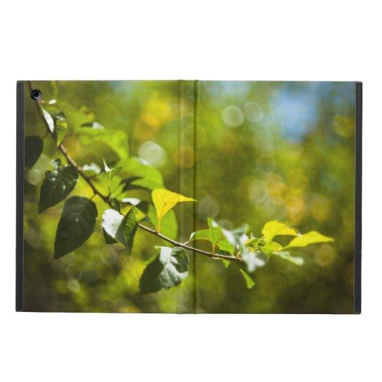 葉および《写真》ぼけ味 iPad AIRケース