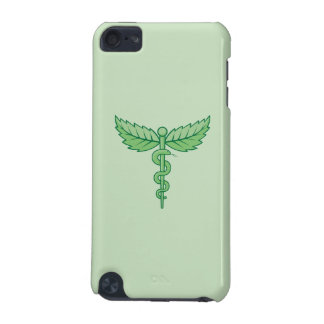 葉が付いているケリュケイオン iPod TOUCH 5G ケース