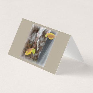 葉のつらら カード