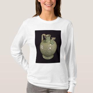 葉のデザインの2噴出水差し Tシャツ