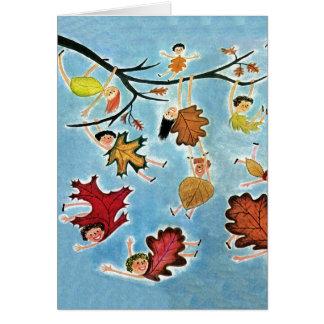葉の子供 カード