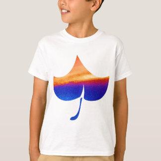 葉の砂時計 Tシャツ