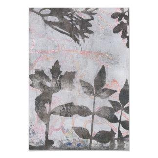葉のMonoprint 17064527の壁の芸術 カード