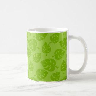 葉11のozのクラシックで白いマグ コーヒーマグカップ