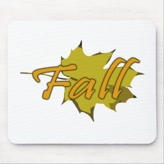葉1 -秋 マウスパッド