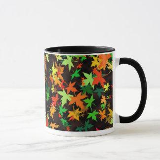 「葉2つ マグカップ