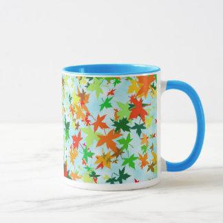 「葉3つ マグカップ