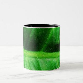 葉3 ツートーンマグカップ