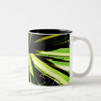 葉5 ツートーンマグカップ