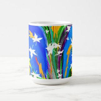 葉 コーヒーマグカップ