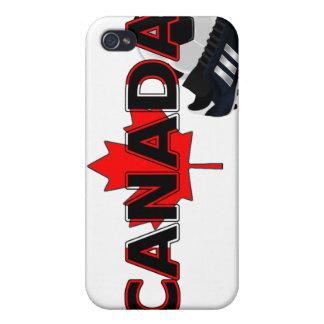 葉(サッカー)が付いているカナダ iPhone 4 CASE