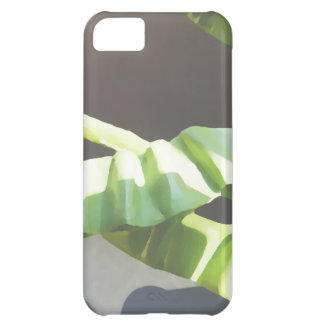 葉。 デジタル芸術の背景 iPhone5Cケース