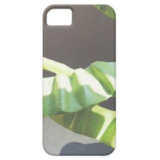 葉。 デジタル芸術の背景 iPhone SE/5/5s ケース