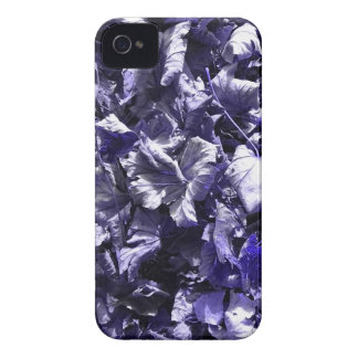 葉-デニムの青 Case-Mate iPhone 4 ケース
