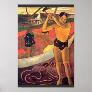 著ポール・ゴーギャン(最も最高のな質) ポスター