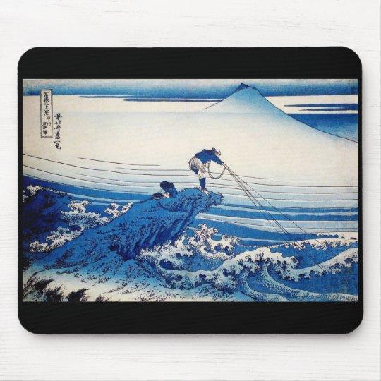 葛飾北斎、HOKUSAI BLUE マウスパッド