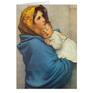葬儀の神聖なカード  Madonnina カード