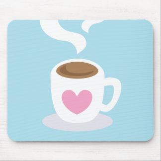 蒸気が付いているコーヒー マウスパッド