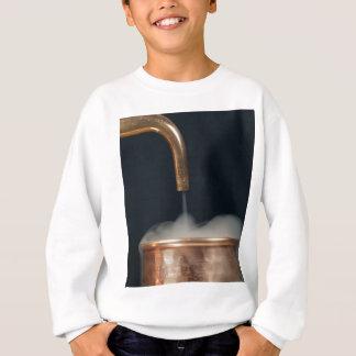 蒸気が付いている銅の管 スウェットシャツ