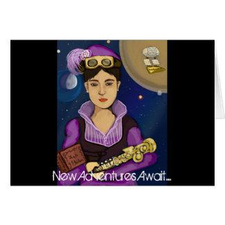 蒸気のパンクの天文学者、lesのetoiles カード