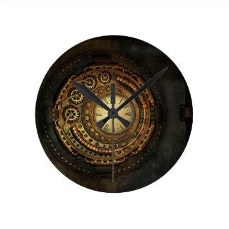 蒸気のパンク|のヴィンテージのスタイルの時計 ラウンド壁時計