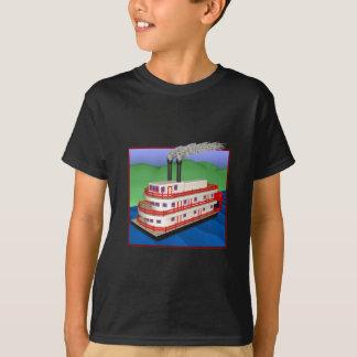蒸気のボート2 Tシャツ