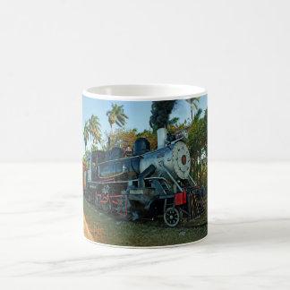 蒸気の列車のマグ コーヒーマグカップ