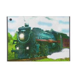 蒸気の列車エンジンの鉄道の列車恋人のiPadの場合 iPad Mini ケース