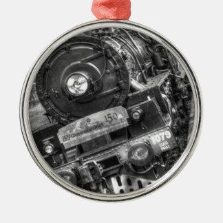 蒸気の列車田園クイーンズランドオーストラリア メタルオーナメント