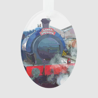 蒸気の列車 オーナメント