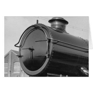 蒸気の列車 カード