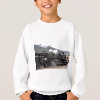 蒸気の列車、コロラド州、米国2 スウェットシャツ