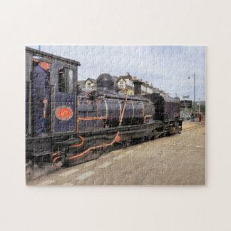 蒸気の列車 ジグソーパズル