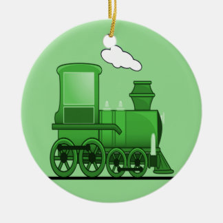蒸気の列車 セラミックオーナメント