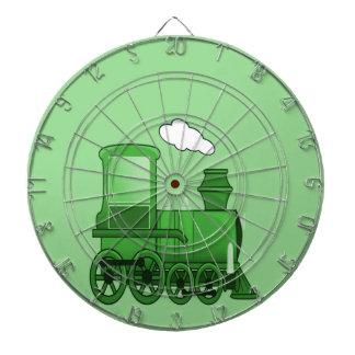 蒸気の列車 ダーツボード