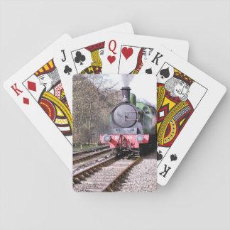 蒸気の列車 トランプ