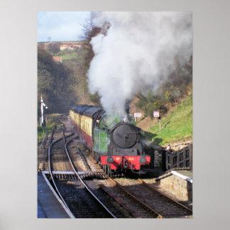 蒸気の列車 ポスター
