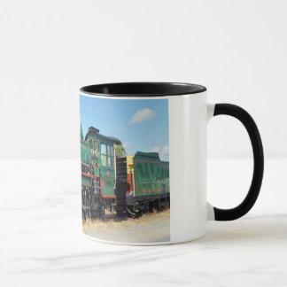 蒸気の列車 マグカップ