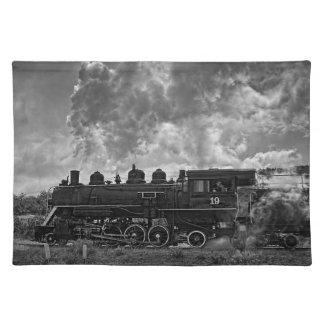 蒸気の列車 ランチョンマット
