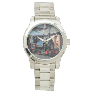 蒸気の列車 腕時計