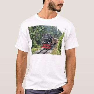 蒸気の列車 Tシャツ