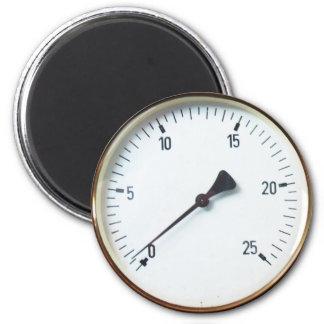 蒸気の圧力計のダイヤル マグネット