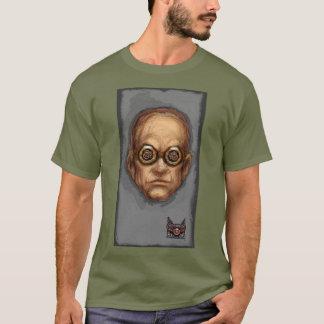 蒸気の大隊のTシャツ14 - Goggles 3大佐 Tシャツ
